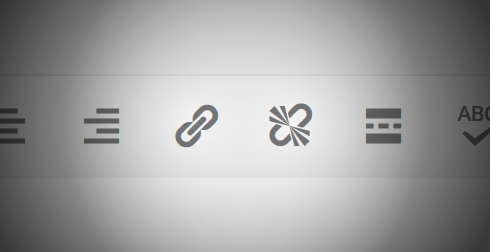 Hyperlink icons